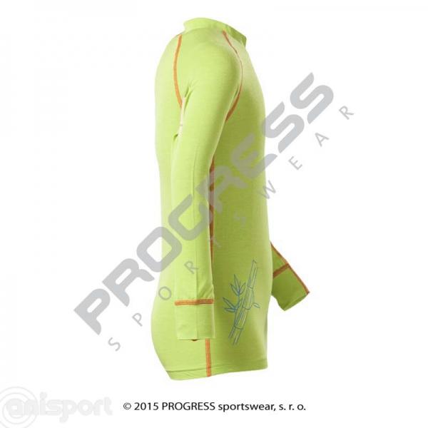 E NDRD dětské termo tričko dlouhý rukáv bambus