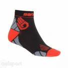 Ponožky MARATHON černé/ČERVENÉ